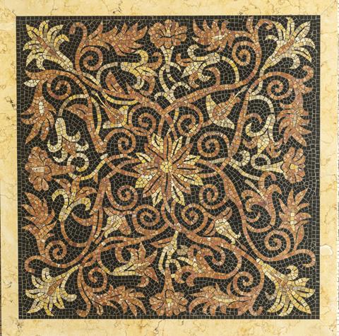 tavolo in mosaico | afmosaici.com