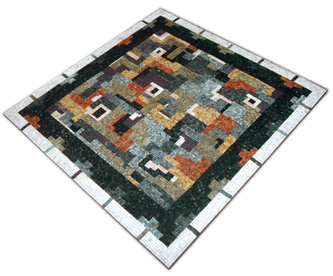 tavolo da terrazzo in mosaico | afmosaici.com