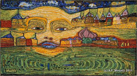 mosaico hundertwasser | afmosaici.com