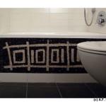 vasca da bagno con mosaico | afmosaici.com