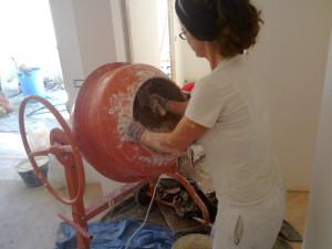 fase di lavorazione del battuto veneziano | afmosaici.com