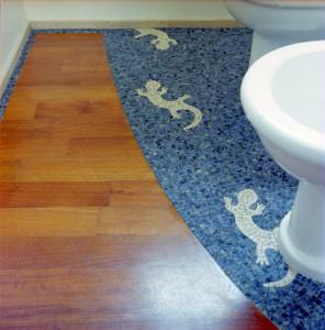 pavimento-mosaico-bagno - A.F. Mosaici
