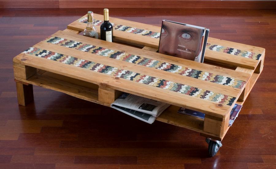 tavolo bancale | afmosaici.com