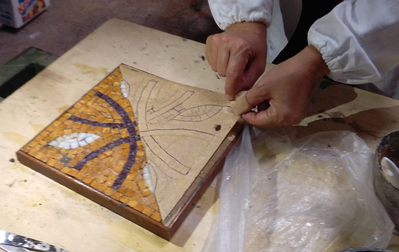 corso base di mosaico | www.afmosaici.com