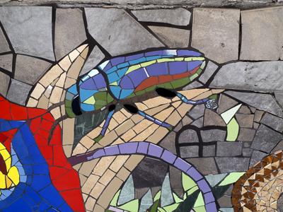 trencadis, mosaico parietale | afmosaici.com