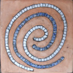 cotto artiginale intarsito con il mosaico | afmosaici.com